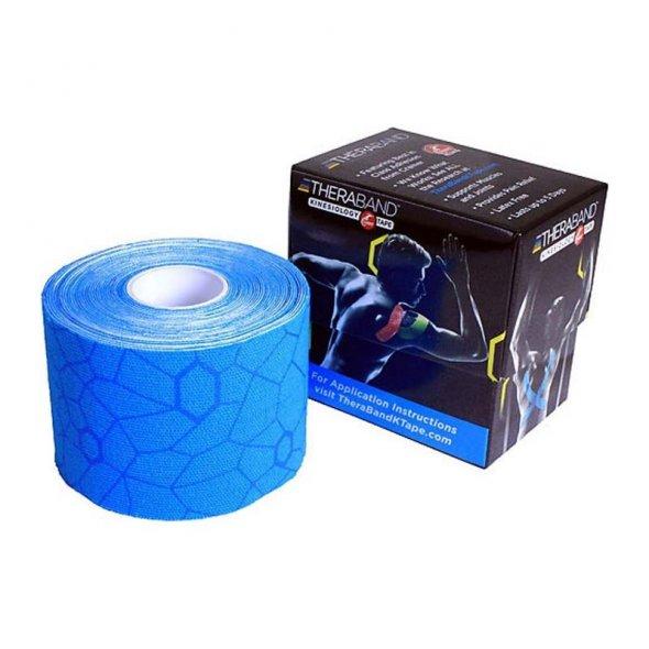 ταινία κινισιοθεραπίας μπλε σε κουτί