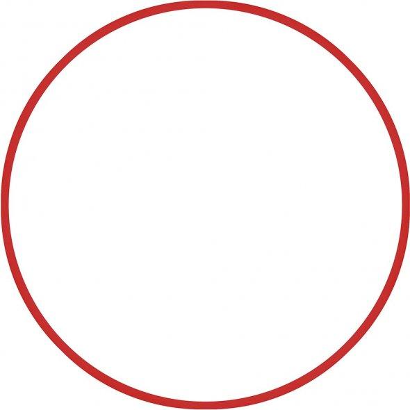 Στεφάνι Ρυθμικής 70cm Kόκκινο Amila 48020