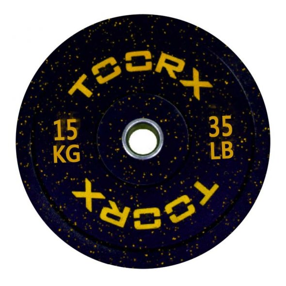 Δίσκος Ολυμπιακός Bumper Crumb 15kg DBCR15 Toorx