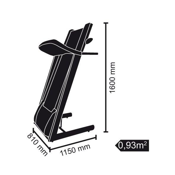 ηλεκτρικός διάδρομος γυμναστικής trx 60s evo toorx