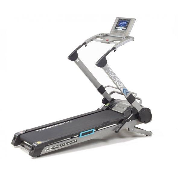 ηλεκτρικός διάδρομος γυμναστικής toorx trx power compact slim line 3.5hp