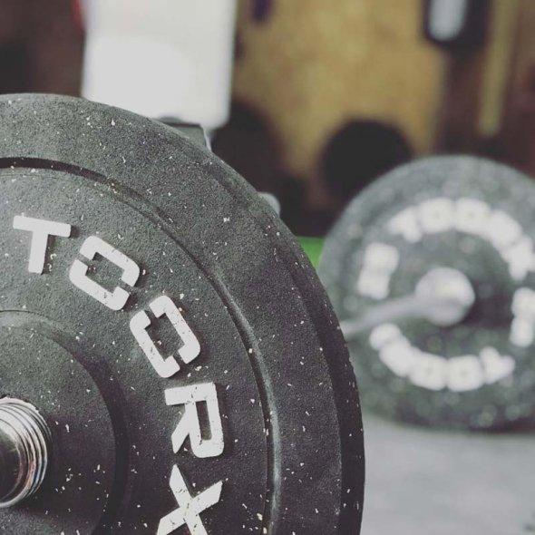 ολυμπιακός δίσκος 5kg για μπάρες bumper crumb toorx