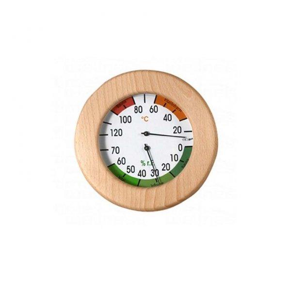 θερμοϋγρόμετρο σάουνας 120mm