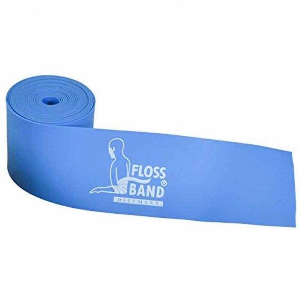 floss band μπλε ελαστικός επίδεσμος dittmann