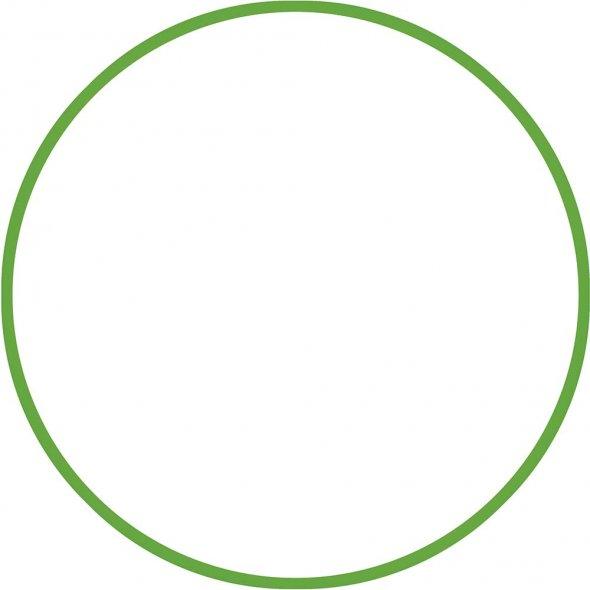 Στεφάνι Ρυθμικής 60cm Πράσινο Amila 48013
