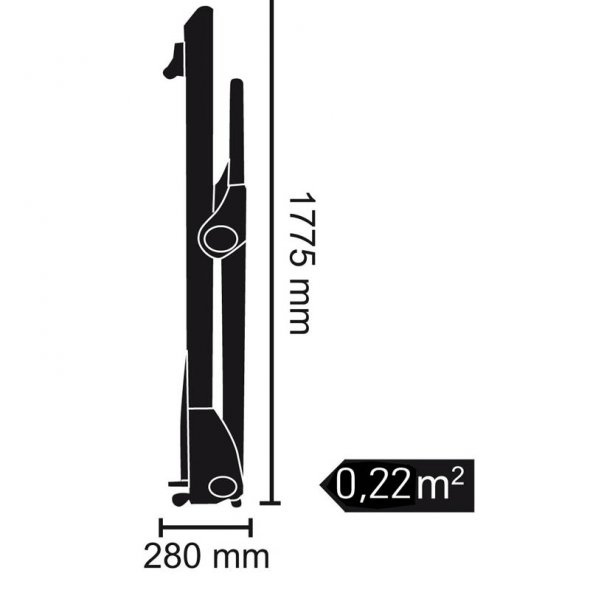 διάδρομος toorx trx power compact slim line
