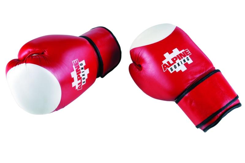 Γάντια Box Κόκκινο Λευκό Cowhide 10oz Alpine  5e0df5dd7b1
