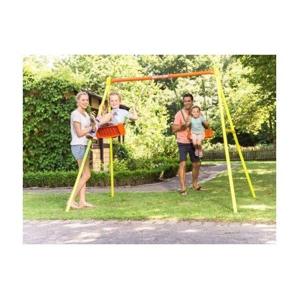 παιδική διπλή κούνια swing 2 kettler παιδάκια που κάνουν κούνια
