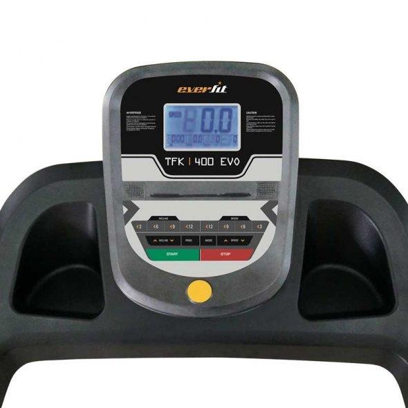 ηλεκτρικός διάδρομος γυμναστικής everfit tfk 400 evo 1.75hp