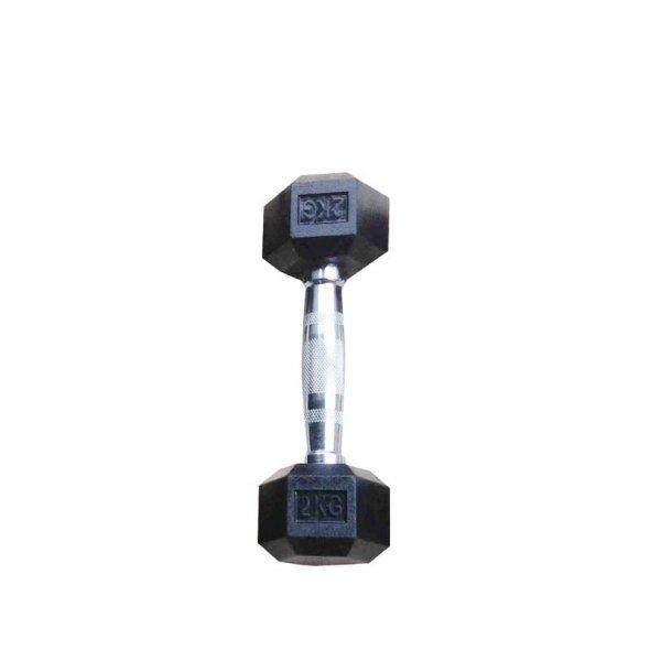εξάγωνος αλτήρας 2kg toorx 06-432-078