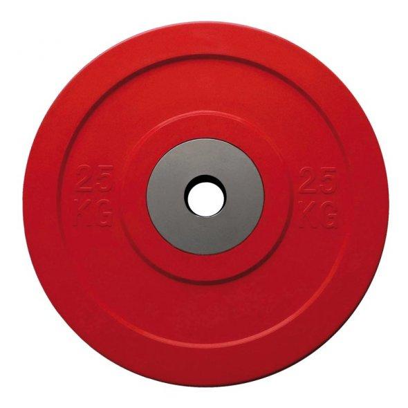 ολυμπιακός δίσκος Crossfit Bumper competition 25 kg toorx