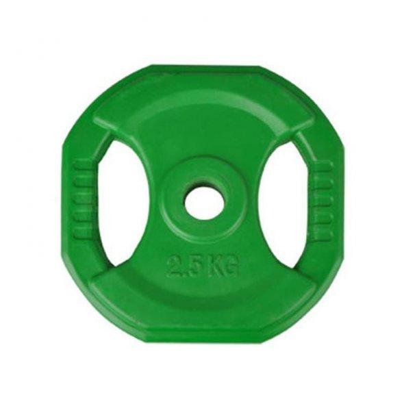 δίσκος body pump 2,5 kg πράσινος