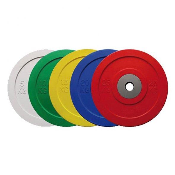 ολυμπιακοί δίσκοι Crossfit Bumper Competition TOORX