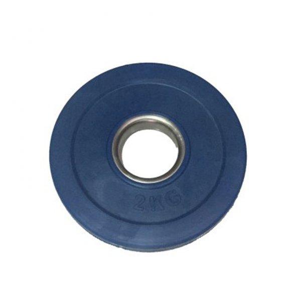 δίσκος fractional bumper 2kg toorx