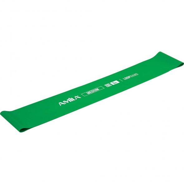 Λάστιχο SMALL LOOP Medium Πράσινο 96602 Amila