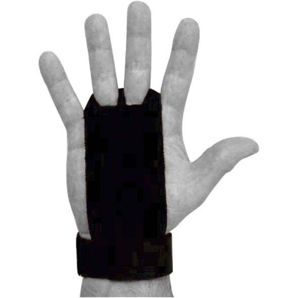 γάντια crossfit 2 grips holes μαύρο small medium 83288 amila σε χέρι