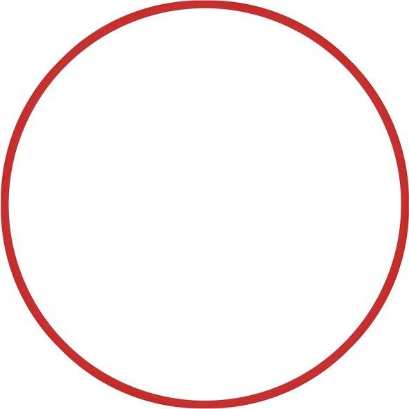 Στεφάνι Ρυθμικής 60cm Κόκκινο Amila 48012
