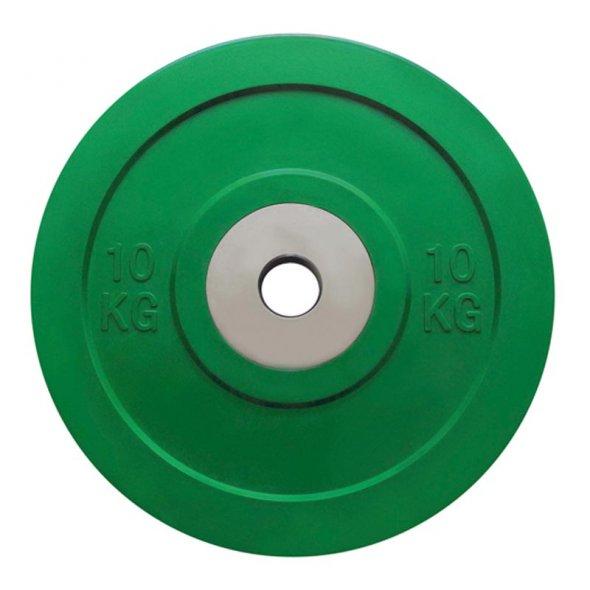 αγωνιστικός δίσκος Crossfit Bumper 10 kg TOORX