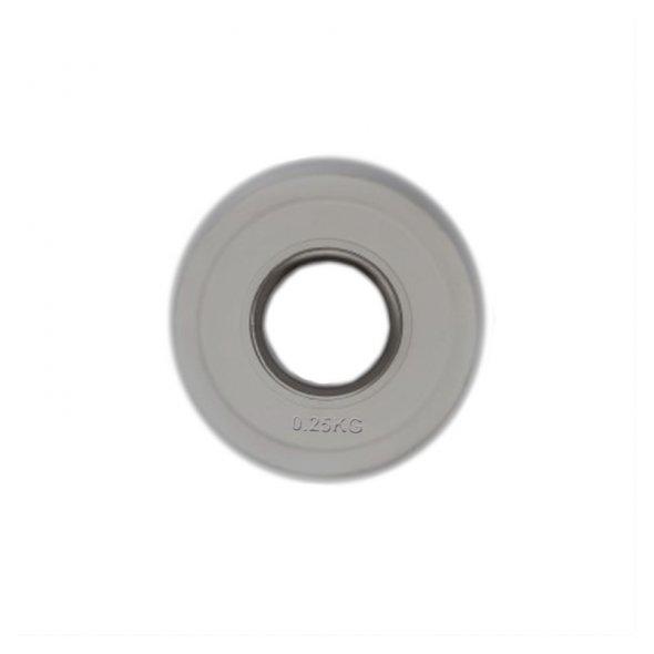 δίσκος fractional bumper 0.25kg toorx