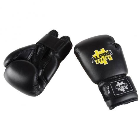 Γάντια Box Μαύρα PU 12oz Alpine  0ee9c669391