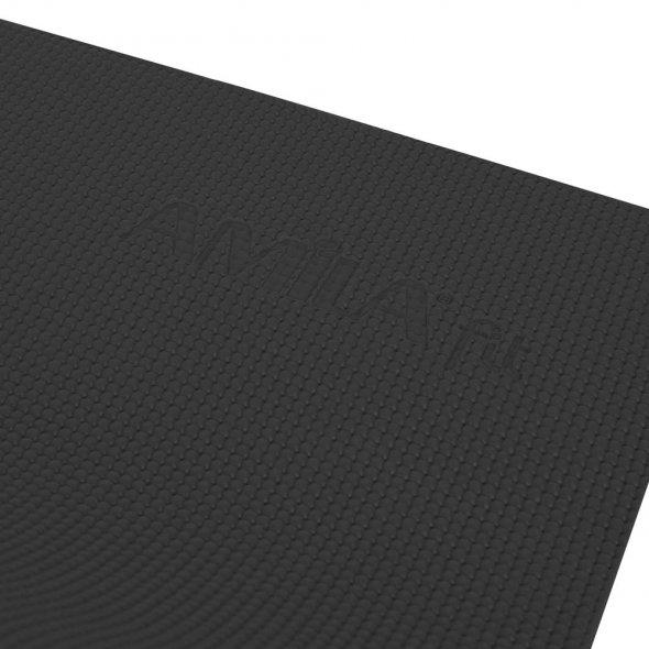 Στρώμα γυμναστικής Yoga Pilates Μαύρο 173x61x0,4cm 81704 Amila