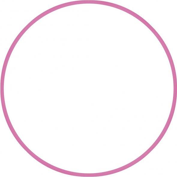 Στεφάνι Hula Hoop Ρόζ 70cm Amila 48158