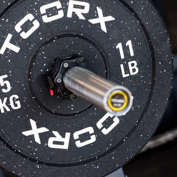 ολυμπιακοί δίσκοι 5kg toorx bumper crumb